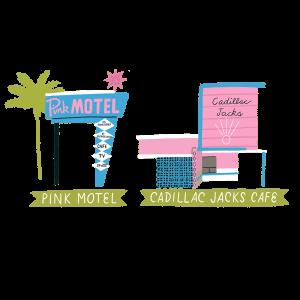 Pink & Cadillac Jacks